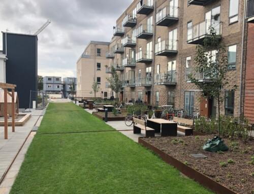 Vi tryller boligområder grønne på stribe
