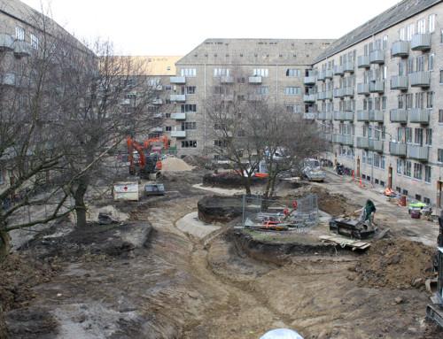 Fremtidens Gårdhave ved Askøgade, København.