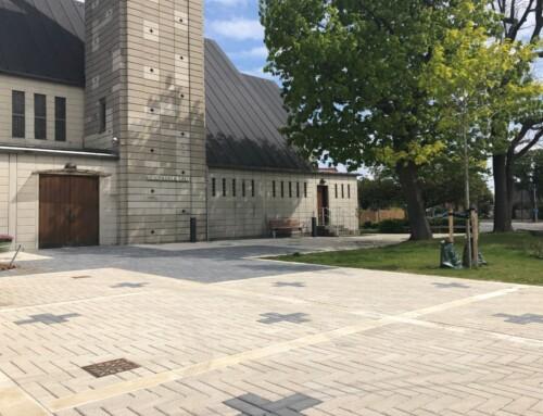 Ny kirkeplads i Rødovre
