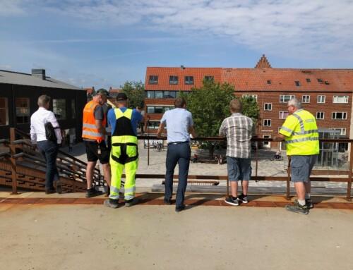 Aflevering af Stationspladsen Køge