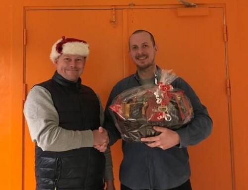 Vinderen af julekurv 2019